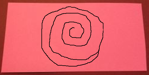 How to make paper roses i personally just cut out a circle and freehand the spiral whatever works best for you dont worry about making a perfect spiral or circle ccuart Images