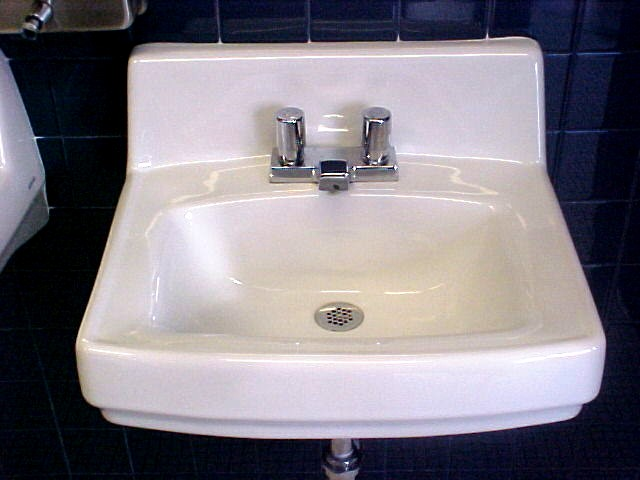 School Bathroom Sinks : was almost too scared to wash my hands. I didnt know whether to ...